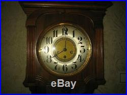 Large German Antique JUNGHANS Clocks with Westminster Chimes