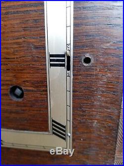 Large Impressive 8 Day, Art Deco, Westminster Chime Mantel Clock Working Order