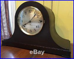 Large Seth Thomas Westminster Sonora Chime Mantle Table Shelf Clock