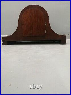 Large Vintage Westminster Chime Mantle Clock Working
