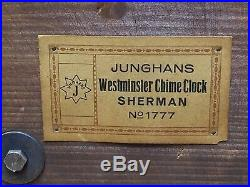 Late 1800s Junghans Wurttemberg Westminster Chime Clock B25 Movement 22 Long