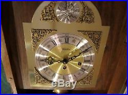 Linden Wall Clock Germany Westminster Chimes