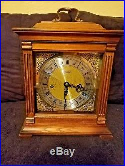 Linden Westminster Chime Mantle Carriage Clock #340-020 Great Condition