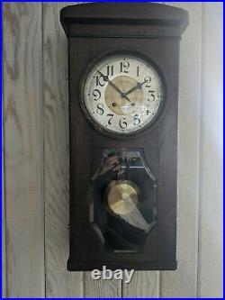 Lorenz Furtwängler and Son LFS Westminster chime wall clock - works great