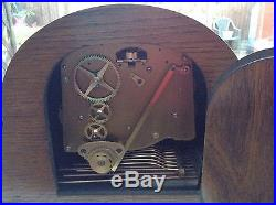 Magnificent Oak Cased Elliott Westminster And Whittington Chimes Clock
