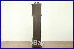 Mahogany Antique Grandfather Tall Case Clock, Westminster Chime #30937