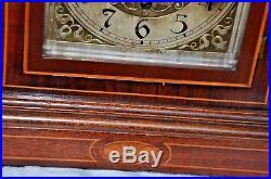 Mahogany Kienzle German Antique Westminster Chime Mantel Clock