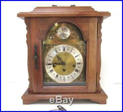 Mantle Clock Emperor Tempus Fugit Westminster Chime Key Wound Mantle Clock