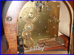Mauthe Westminster Chime Mantel Clock Art Deco Beautiful