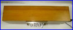 Mid-Century Modern Sessions 2C Westminster Chime Electric Clock -Running
