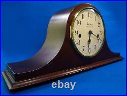 Mid Century Seth Thomas Clock Westminster Chime Two Jewels W. Germany Talley