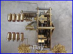 NEW OLD STOCK Hermle Westminster Chime Grandfather Clock Movement 451-050 H 94cm