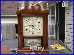 New England Clock Co. Pillar & Scroll, Westminster Chimes