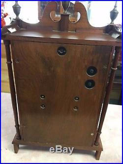 Nice Daneker German Westminster Chime Wood Mantel Clock
