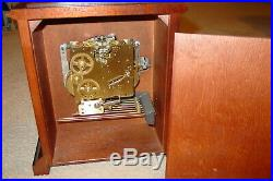 Nice Howard Miller Mantle Clock 2 Jewel Westminster Chime 340-020 Germany Works