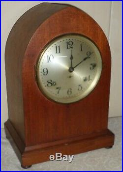 Nice Rare Seth Thomas Antique 8 Day Westminster Sonora Chime Gothic Parlor Clock