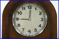 Oak 1925 Grandfather or Long Case Clock, Westminster Chime, Germany