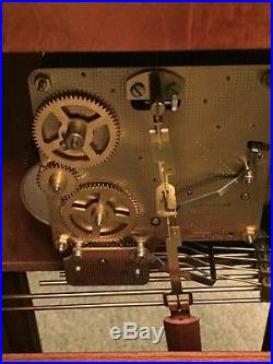 Oak Howard Miller 613-108 Sandringham Westminster chime Chiming Wall Clock