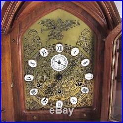 Original Gazo Family Westminster Whittington 9 Bell Chime Musical Bracket Clock