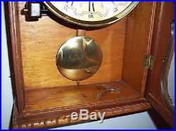Reguladora Wall Clock Westminster/ Ave Maria Wr 2/341/30 Chime Parts Or Repair