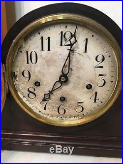 Rare 5 Gong Westminster Chime Mantle Clock Bawo & Dotter Peerless For Tiffany