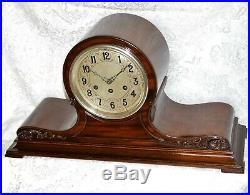 Rare Antique Herschede Canterbury And Westminster Chime Mantel Clock. Serviced