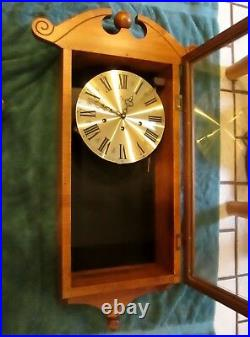Rare Elgin Welby Wall Clock Westminster Chimes