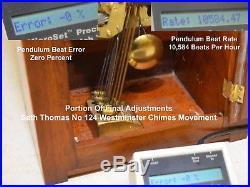 Rare Fully Restored Seth Thomas Antique Westminster Chimes Clock No 57 1934