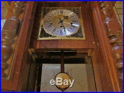 Rare German Mayfair Clock Westminster Chimes Weighs 39#