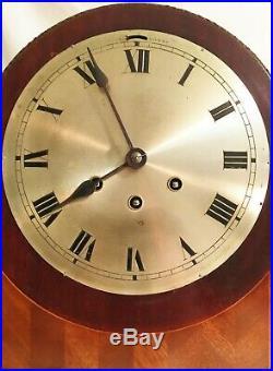 Rare Gustav Becker 8-day German Black Forrest Westminster Chime Mantle Clock