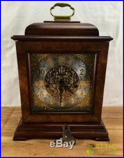 Rare Howard Miller 59th Anniversary Mantel Clock 612-724 Westminster Chime