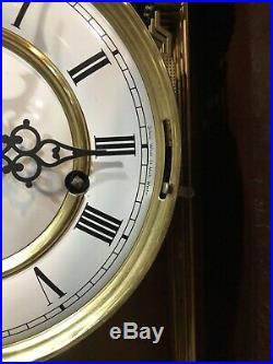 Rare Howard Miller Triple Chime Westminster Whitt German Wall Clock 612-674