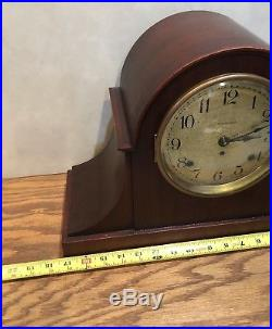 Rare Seth Thomas 5 Bell Sonora Westminster Chime Mantle Bracket Table Clock