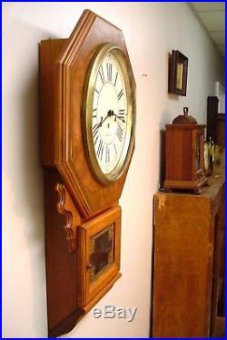 Rare Seth Thomas Royal Stafford Huge Westminster Chime Gallery Clock