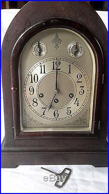 Rare Seth Thomas Westminster 5 Chime Beehive Cathedral Mantel Clock No. 72