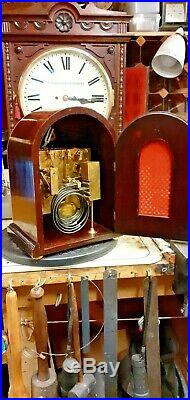 Rare small sized W&H Westminster Chime Bracket Clock