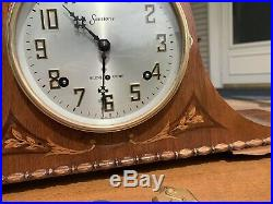 Restored 1938 Sessions Westminster WC 99 Chiming Clock Antique
