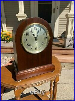 Restored Antique 1921 Seth Thomas Chime Clock No. 11 with119 Westminster Mvmt