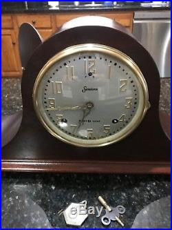 Restored Antique Pre WWII Sessions Westminster 1 Chiming Clock 1 Yr Warranty
