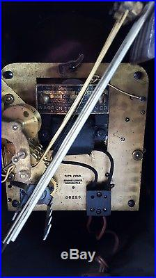 Revere Colonial R-136 Telechron Westminster Chime Electric Mantel Clock Mahogany