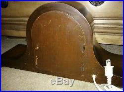 Revere Telechron Vintage Westminster chime clock works great rare model 602