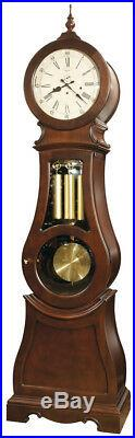 Ridgeway 2567 Broman Cherry Scandanavian Style Round Top Grandfather Clock