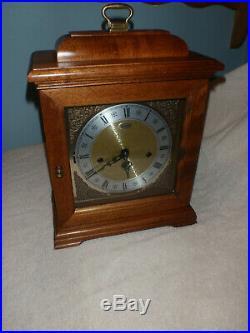 Ridgeway Mantel Clock 8 Day Key Wound Westminster Chime Beautiful