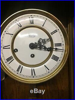 Ridgeway Oak Westminster Chimes Wall Clock