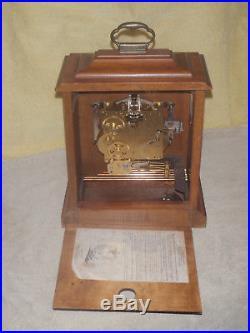 Ridgeway Westminster Chime Mantel Clock Franz Hermle 340-020 Beautiful