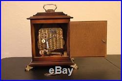 SCHATZ Westminster Germany Mantel Chime Clock