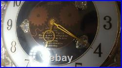 SEIKO Melodies-In-Motion HIFI 2006 Collectors Ed Swarovski Crystals Beatles song