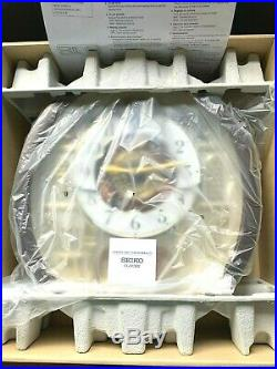 SEIKO Spc Ed Melodies in Motion Wall Clock 24 Songs Swarovski Elements Analog