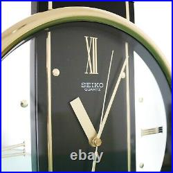 SEIKO Wall OR Mantel Clock QQX102K Volume Control! WESTMINSTER Chime! RARE MODEL
