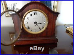 Seth Thomas 4 Bell Sonora Chime 1914 Antique Westminster Clock Not Running
